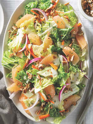 Grapefruit-Cabbage Salad Recipe