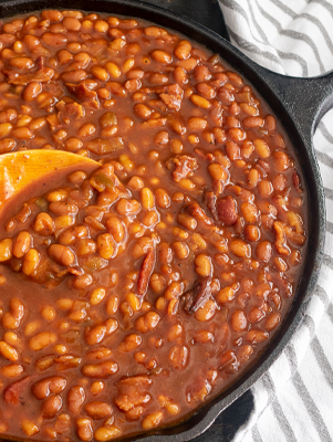 Lone Star Molasses Baked Beans Thumbnail