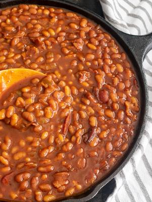 Lone Star Molasses Baked Beans