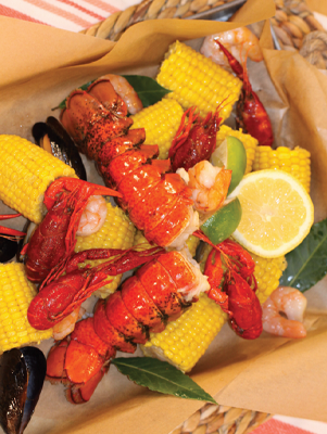 Air Fryer Low Country Boil