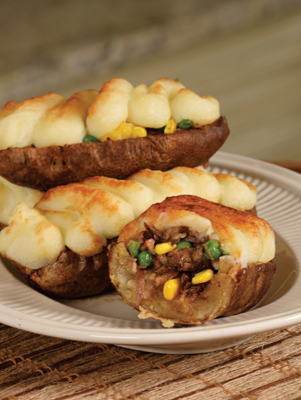 Air Fryer Shepherd's Pie Stuffed Potatoes Thumbnail