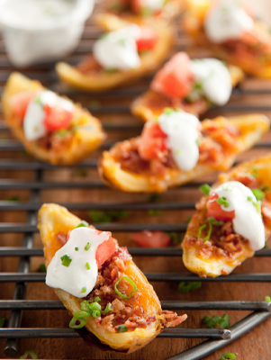 Grilled Potato Skins Thumbnail
