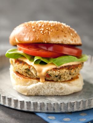 Guilt Free Veggie Bean Burger