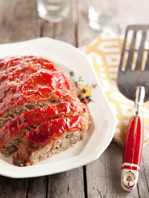 Re-Fashioned Turkey Meatloaf