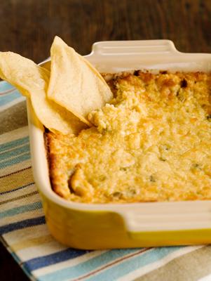 Three Cheese Hot Artichoke Dip