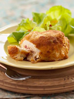 Ham and Cream Cheese-Stuffed Chicken