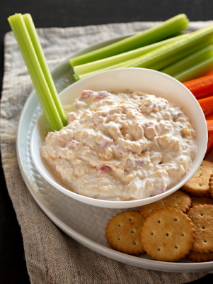 Pimento Cheese and Celery Sticks