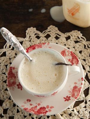 Drinking Custard, AKA Boiled Custard or Crème Anglaise