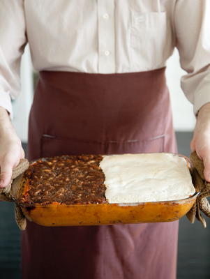 Divided Sweet Potato Casserole