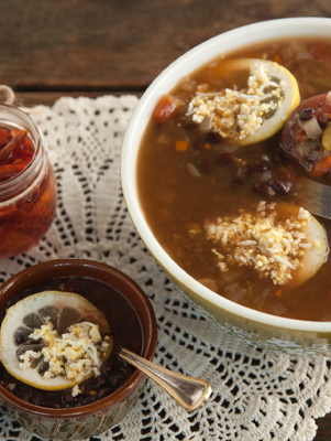 Savannah Black Bean Soup Thumbnail