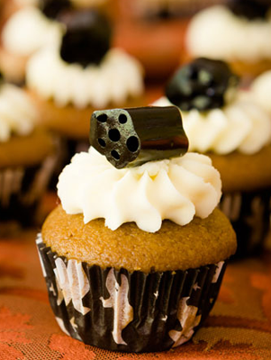 Black Licorice Cupcakes