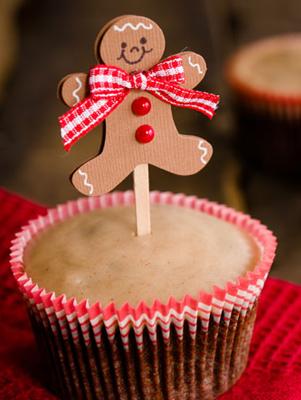 Chocolate Gingerbread Cupcakes Thumbnail