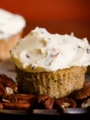 Maple Pecan Cupcakes