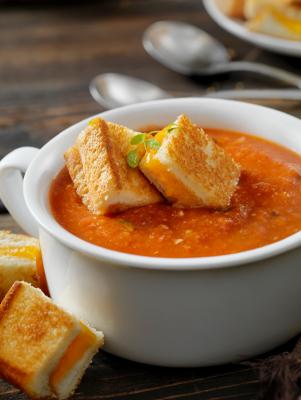 Tomato-Dill Soup