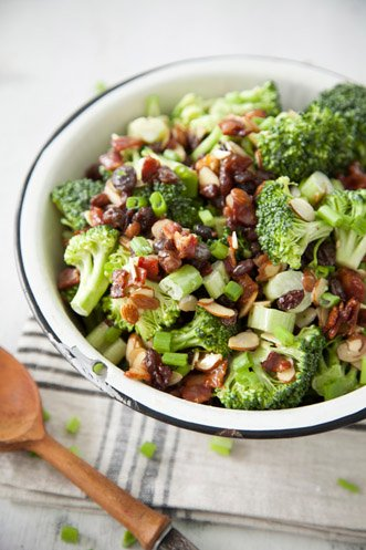 Almond Broccoli Salad Recipe