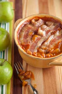 Apple Baked Bean Casserole Recipe