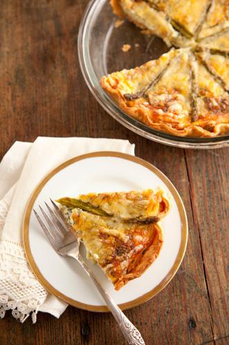 Asparagus Quiche Thumbnail
