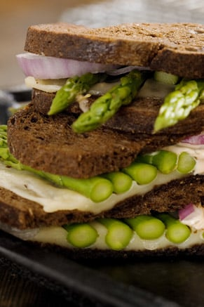 Asparagus Sandwich Thumbnail