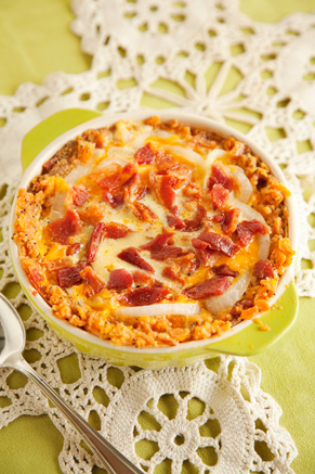 Bacon Onion Pie Recipe