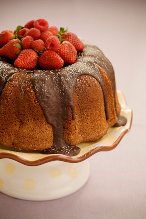 The Bag Lady's Favorite Chocolate Pound Cake Thumbnail