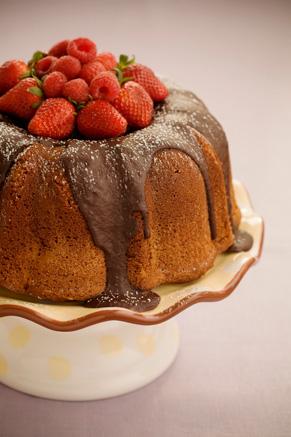 The Bag Lady's Favorite Chocolate Pound Cake Recipe