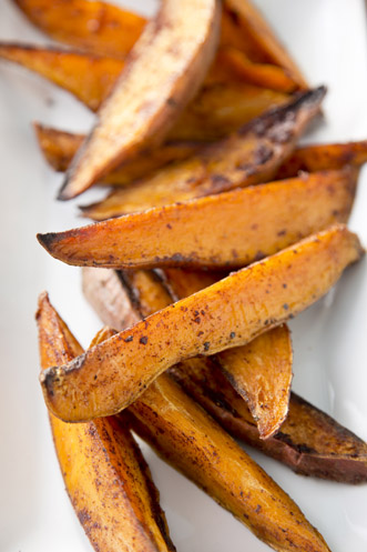 Baked Sweet Potato Wedges Thumbnail
