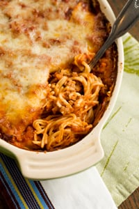 Baked Spaghetti With Tomatoes Paula Deen