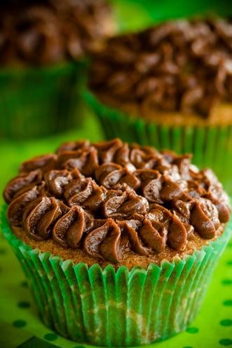 Irish Coffee Brownie Cupcakes Recipe