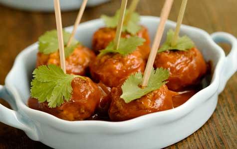 BBQ Meatball Appetizer Recipe