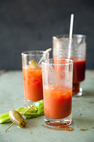 Bloody Mary with a Kick Recipe