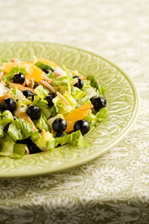 Blueberry and Grilled Chicken Salad Thumbnail