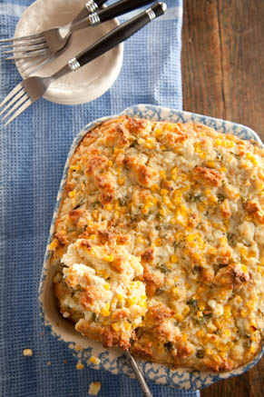 Biscuit and Blue Cheese Bread Pudding Recipe