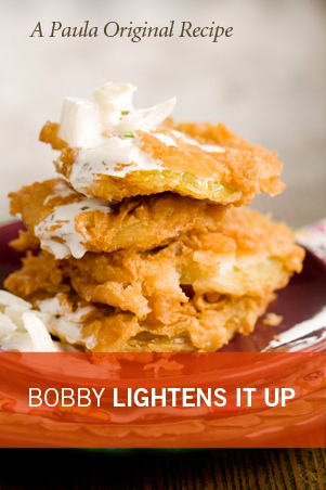 Bobby's Lighter Fried Green Tomatoes Thumbnail