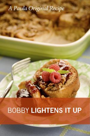 Bobby's Lighter Baked French Toast Casserole Recipe