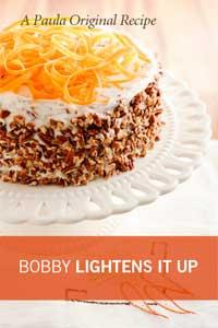 Bobby's Lighter Carrot Cake Recipe