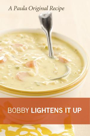 Bobby's Lighter Chef Jack's Corn Chowder Thumbnail