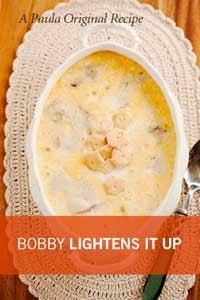 Bobby's Lighter Oyster Stew Recipe