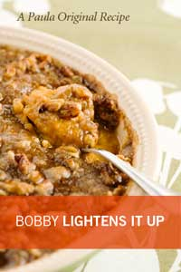 Bobby's Lighter Sweet Potato Bake Recipe