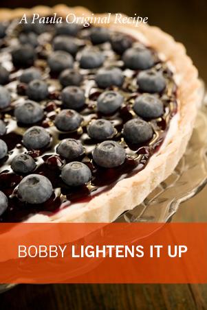 Bobby's Lighter Blueberry Tart Recipe