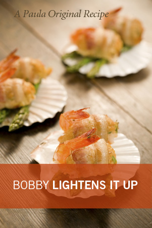 Bobby's Lighter Crab-Stuffed Shrimp Recipe