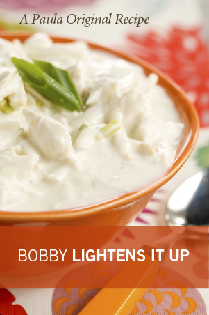 Bobby's Lighter Crab Soup Recipe