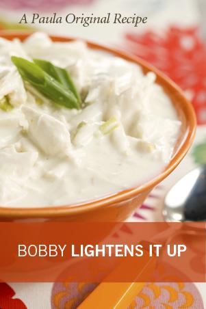 Bobby's Lighter Crab Soup Recipe