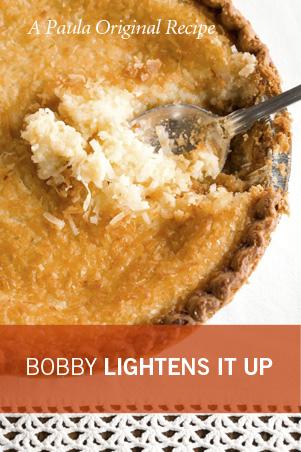 Bobby's Lighter French Coconut Pie Recipe