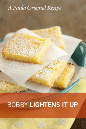 Bobby's Lighter Lemon Bars Recipe
