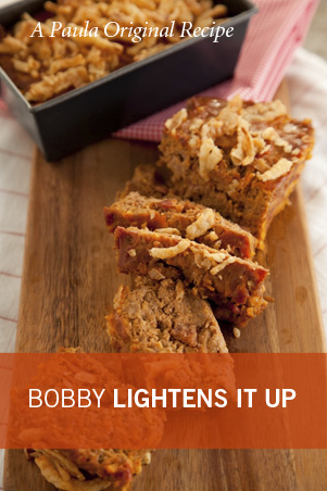 Bobby's Lighter Bacon Cheeseburger Meatloaf Thumbnail