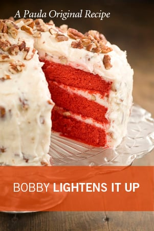Lighter Red Velvet Cake Recipe