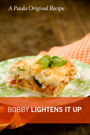 Lighter Tomato Pie Recipe