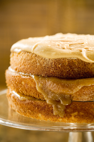 Bobby S Caramel Cake Paula Deen