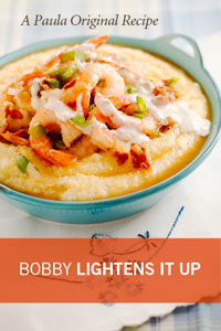 Bobby's Lighter Shrimp and Grits Recipe