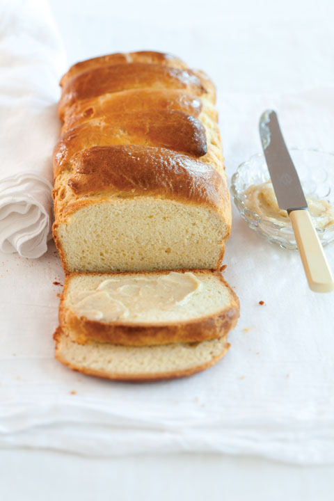 Vanilla Bean Brioche With Vanilla-Honey Butter Recipe